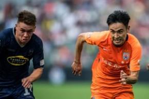 通海金融賀歲盃2019 - 山東魯能泰山 (中國) vs 奧克蘭城 (新西蘭)