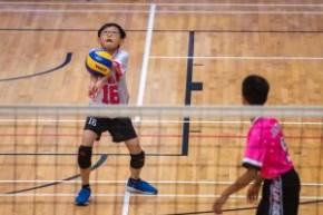 第十二屆全港小學區際排球比賽(男子組季軍賽 九龍東對大埔)