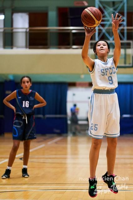 2019-11-05 Interschool basketball girls A grade 0103