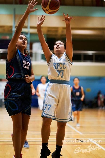 2019-11-05 Interschool basketball girls A grade 0105